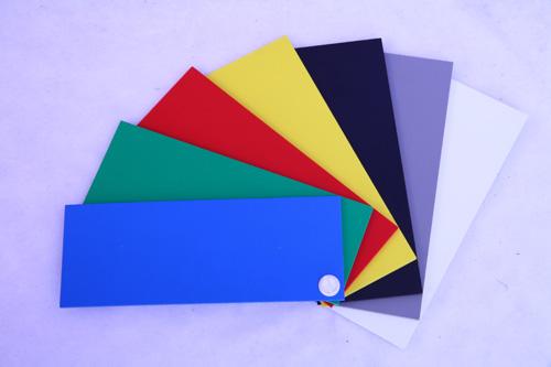 pvc板彩色价位